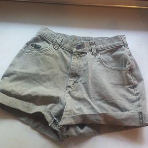 Vintage Green Lee Shorts!